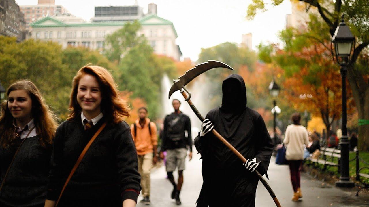 Voyage en amérique: Un jour d'Halloween à New York